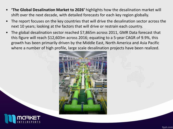 'The Global Desalination Market to 2026'