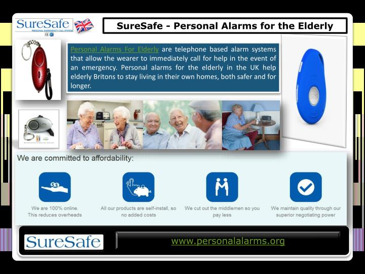 SureSafe - Personal Alarms for the Elderly