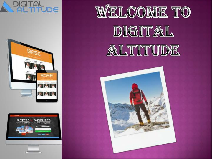 Welcome To Digital altitude