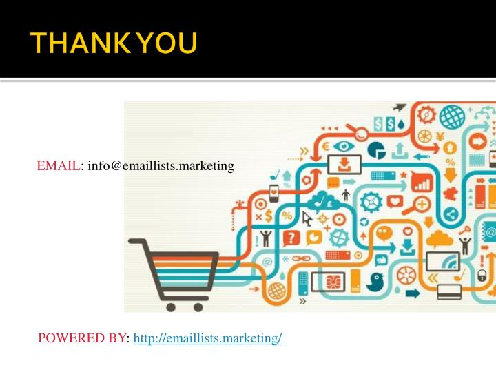 EMAIL: info@emaillists.marketing