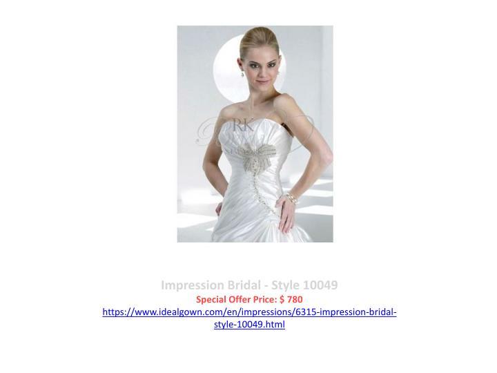Impression Bridal - Style 10049