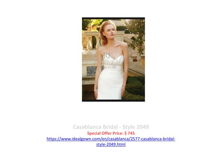 Casablanca Bridal - Style 2049