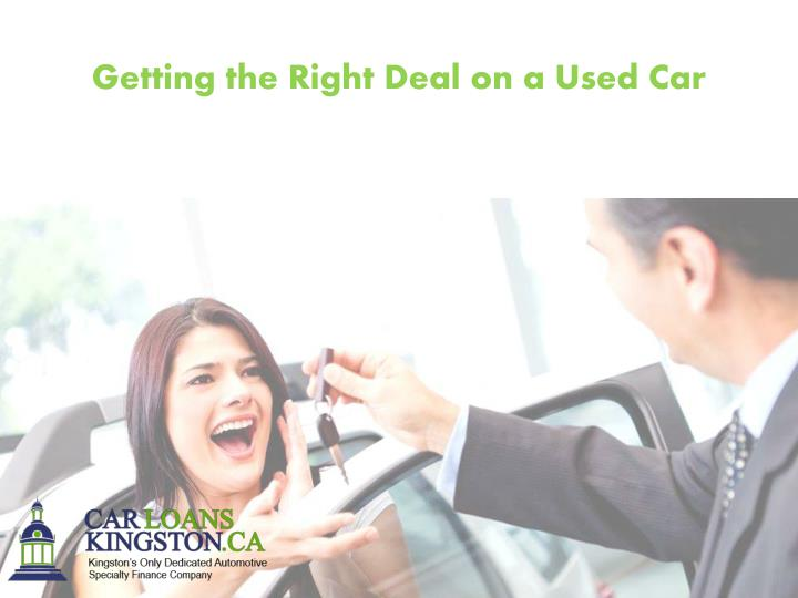 Getting the Right Deal on a Used Car