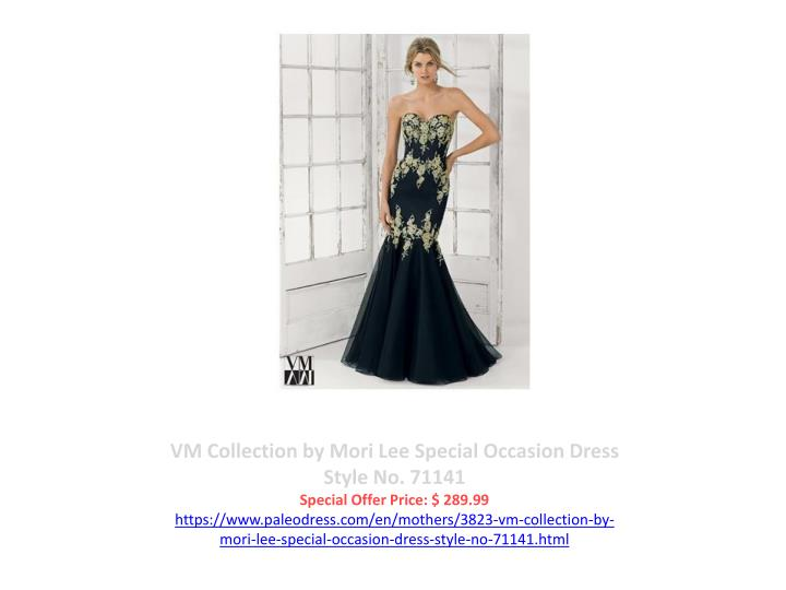 VM Collection by Mori Lee Special Occasion Dress Style No. 71141