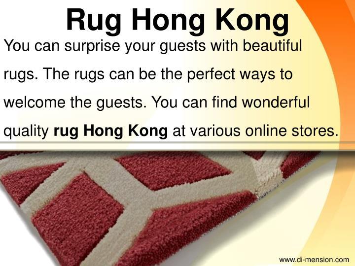 Rug Hong Kong
