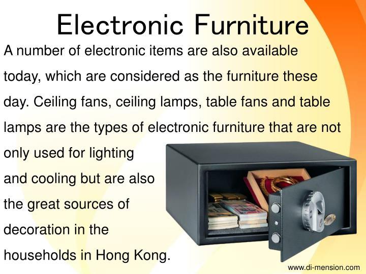 Electronic Furniture