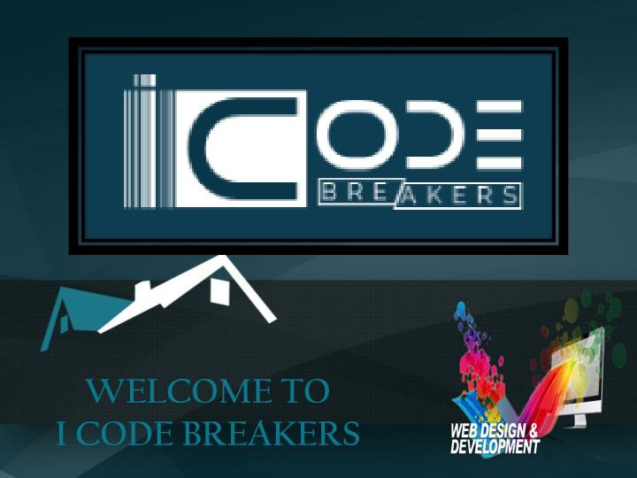 Welcome to i code breakers