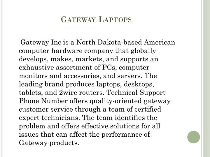 Gateway Laptops