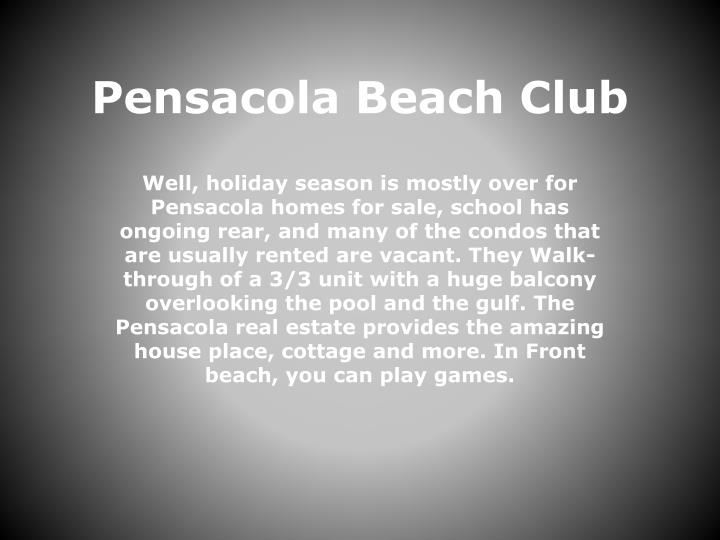 Pensacola Beach Club