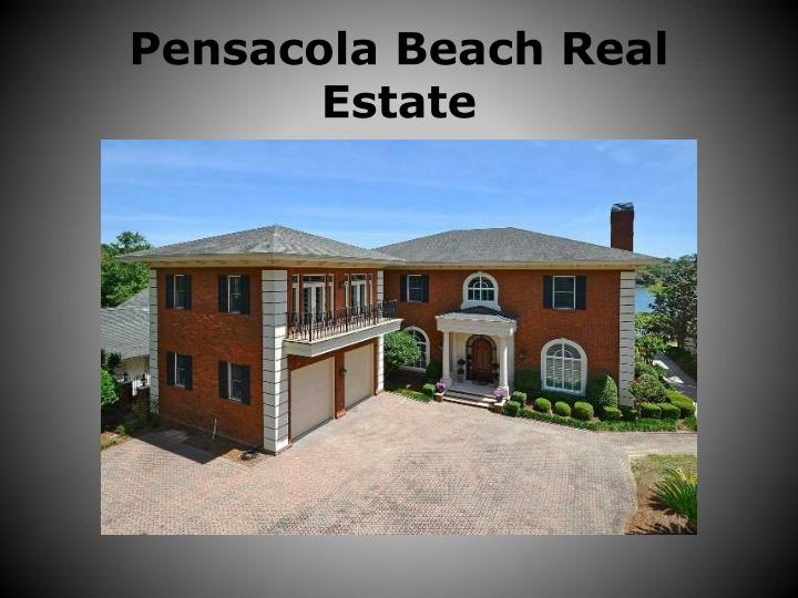 Pensacola Beach Real Estate