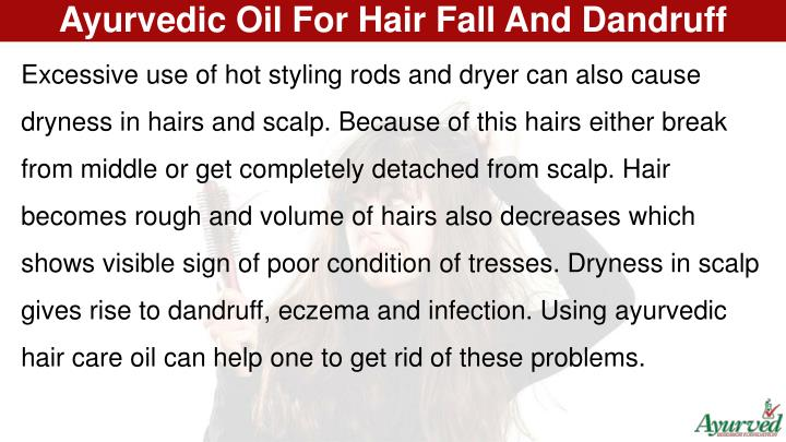 Ayurvedic Oil For Hair Fall And Dandruff