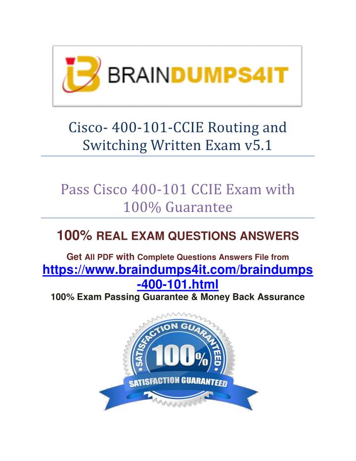 Cisco- 400-101-CCIE Routing and