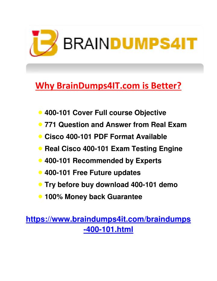 Why BrainDumps4IT.com is Better?