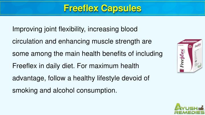 Freeflex Capsules