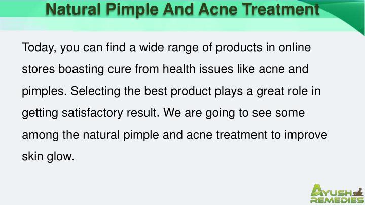 Natural Pimple