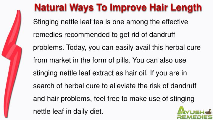 Natural Ways To Improve Hair Length