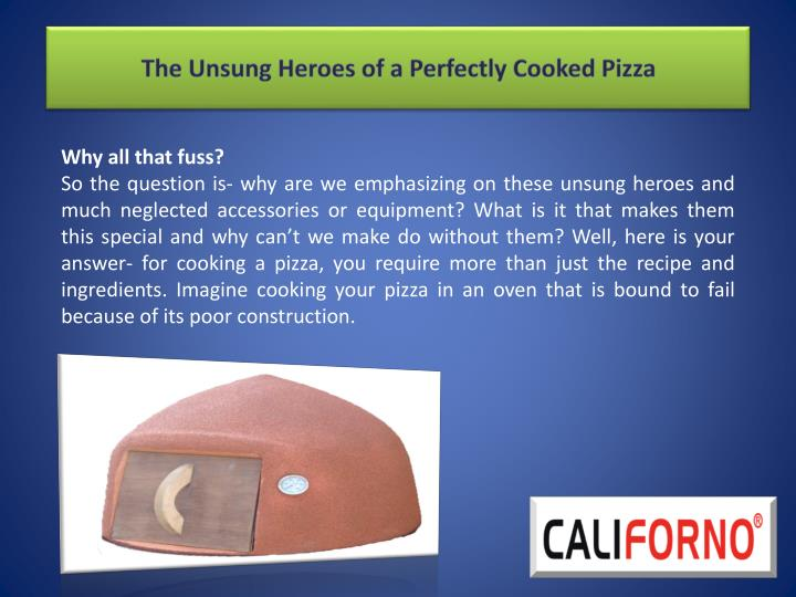 The Unsung Heroes of a Perfectly Cooked Pizza