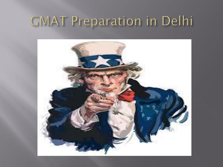 GMAT Preparation in Delhi