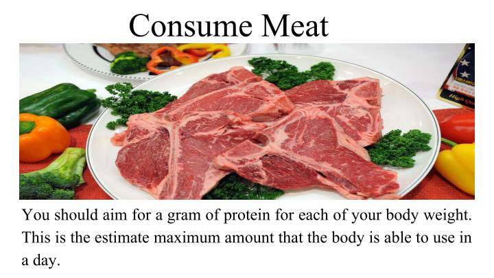 Consume Meat