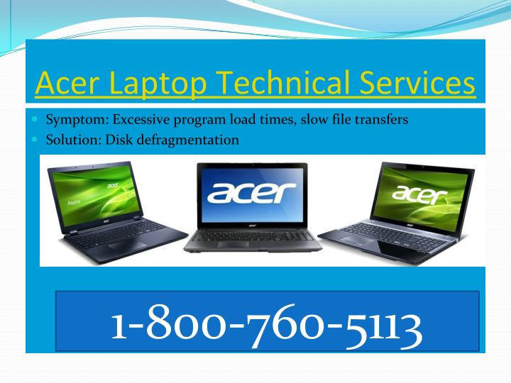 Acer Laptop Technical Services