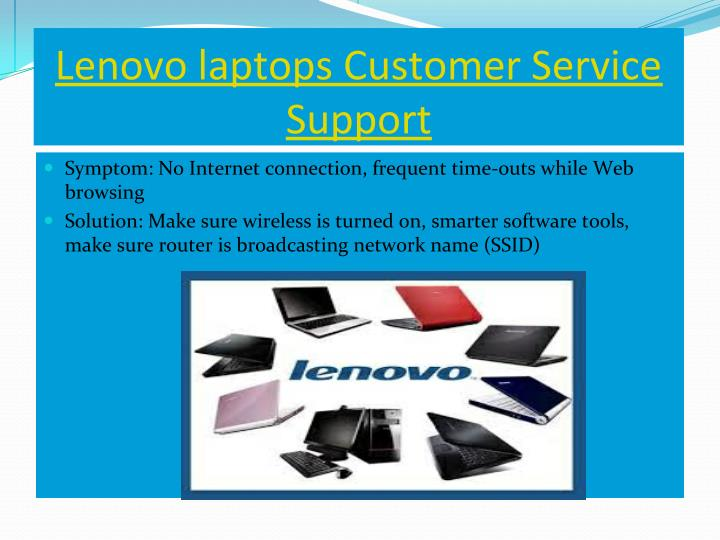 Lenovo laptops Customer Service
