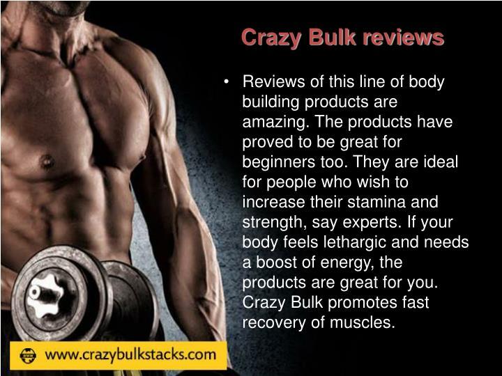 Crazy Bulk reviews