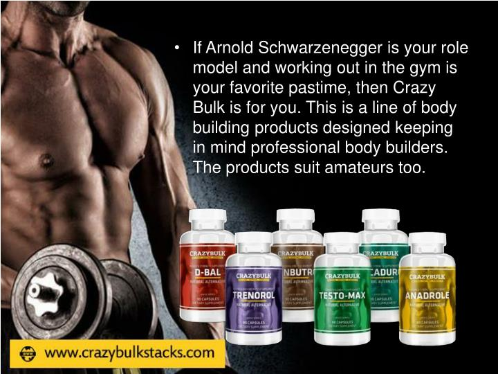 If Arnold Schwarzenegger is your role model and working out in the gym is your favorite pastime, the...