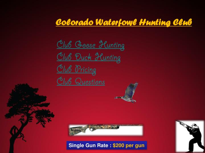 Club goose hunting club duck hunting club pricing club questions