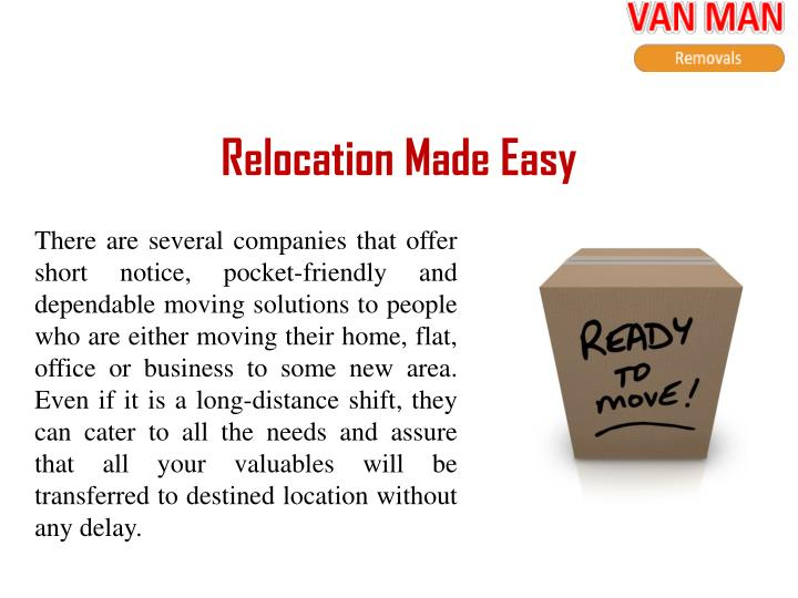 Relocation made easy