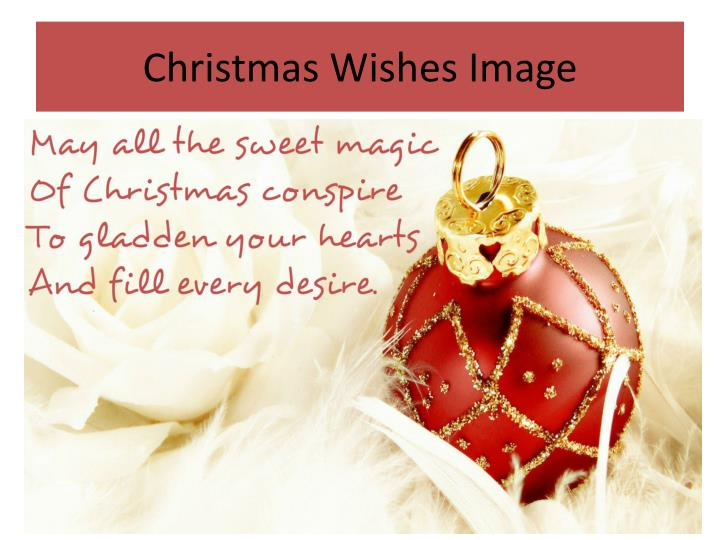 Christmas Wishes Image