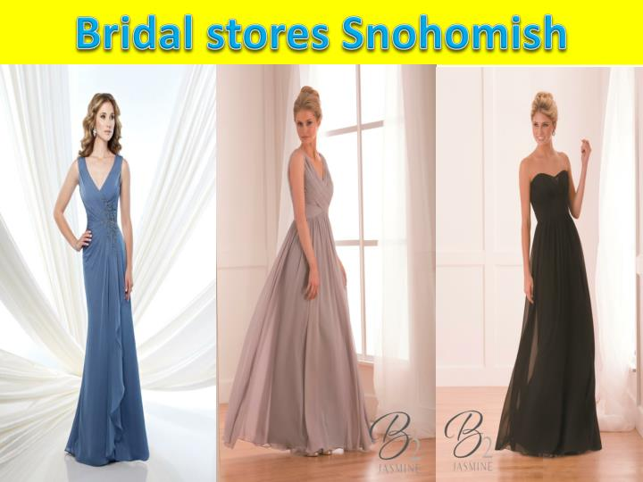 Bridal stores Snohomish