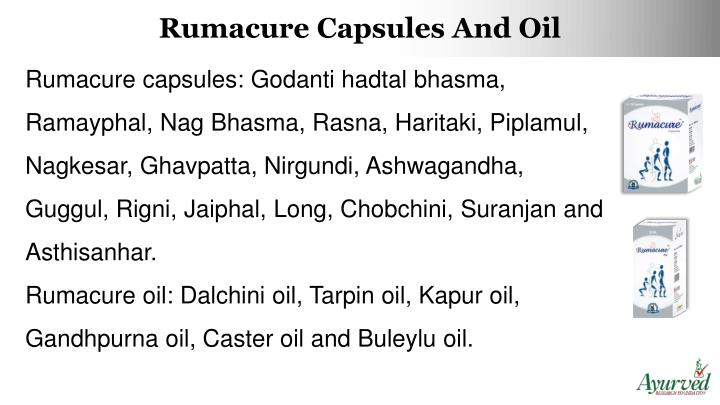 Rumacure Capsules
