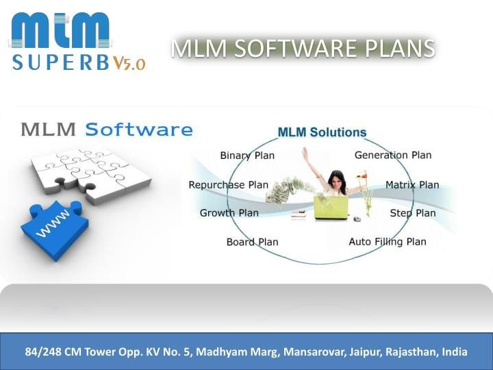 MLM SOFTWARE PLANS