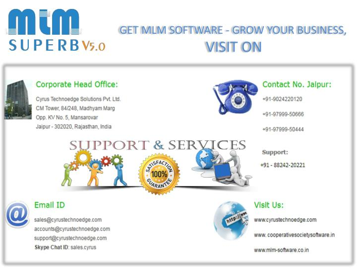 GET MLM SOFTWARE - GROW YOUR BUSINESS,