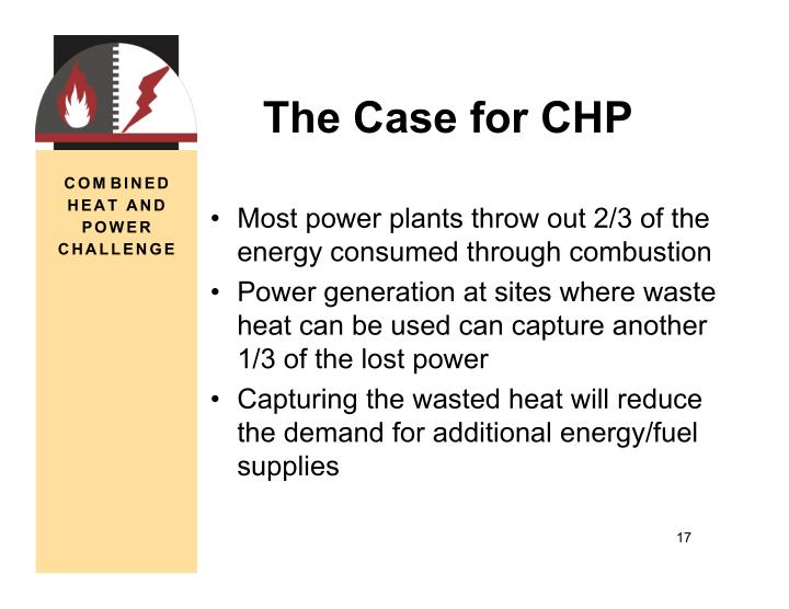 The Case for CHP
