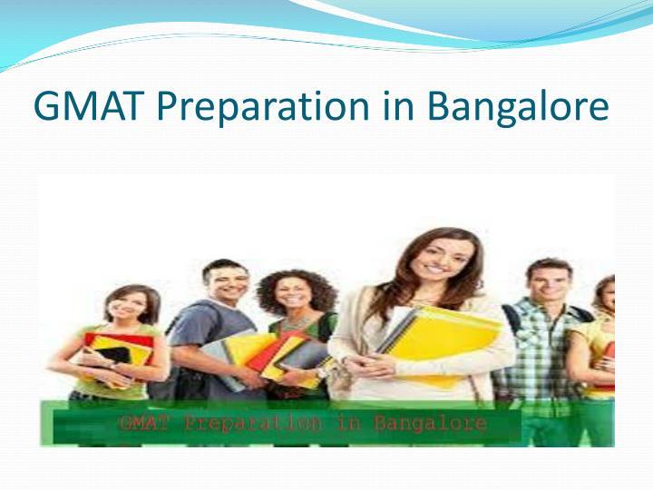 GMAT Preparation in Bangalore