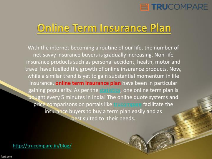 Online Term Insurance Plan