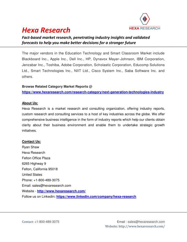 Hexa Research