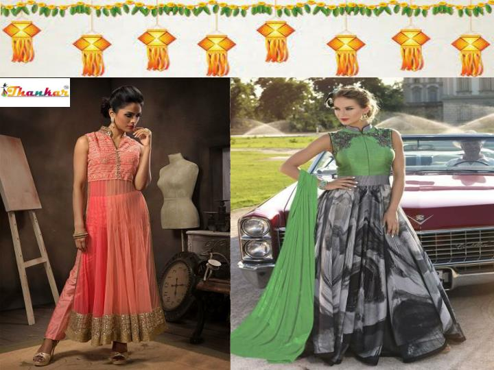 Diwali special anarkali salwar suits online shopping in india