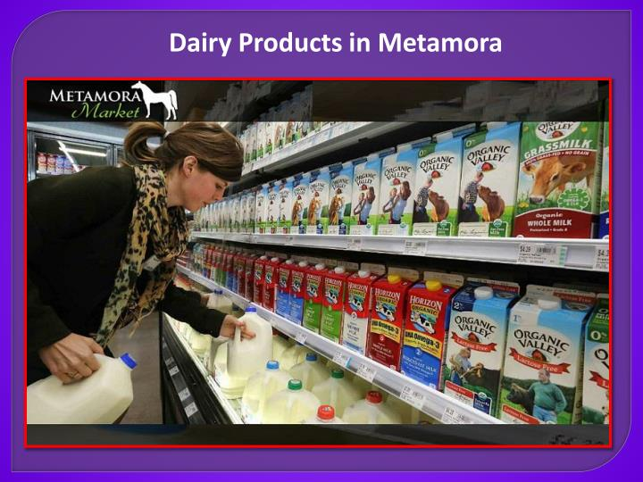 Dairy Products in Metamora