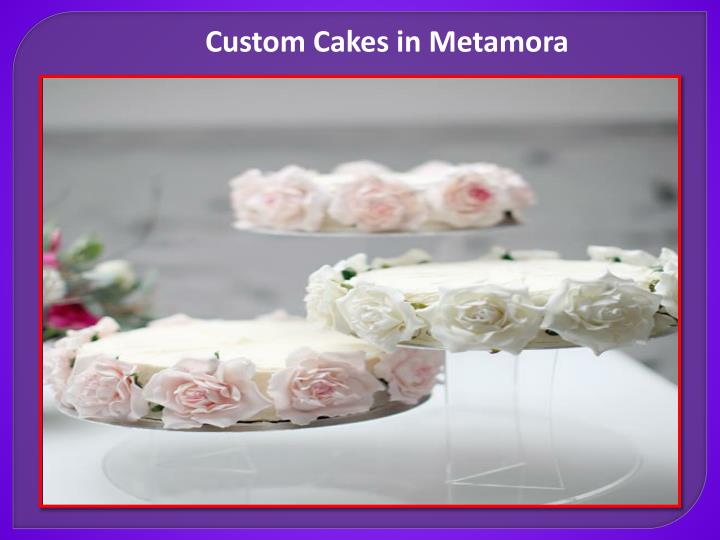 Custom Cakes in Metamora