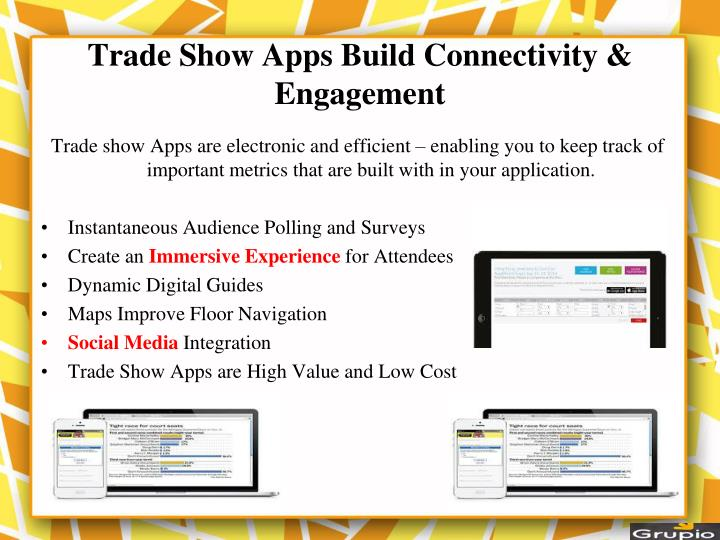 Trade Show Apps Build Connectivity & Engagement