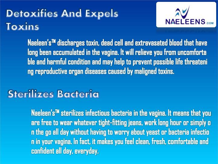Detoxifies And Expels Toxins
