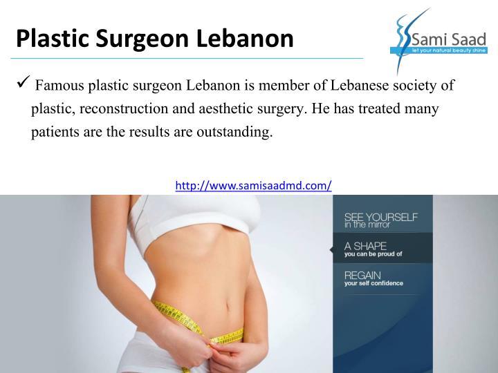 Plastic Surgeon Lebanon