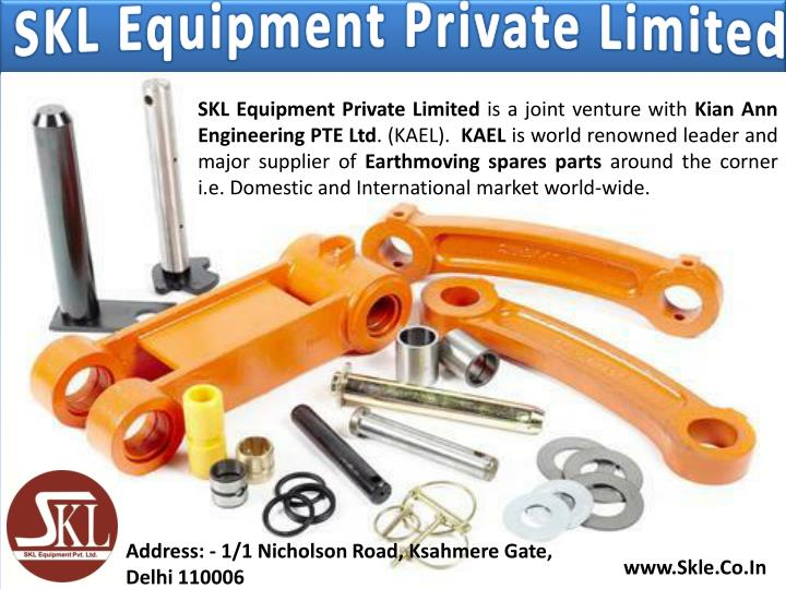 SKL Equipment Private Limited