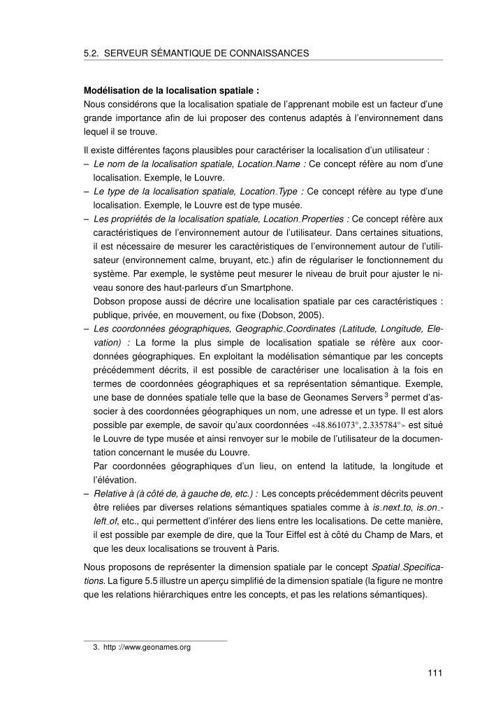 5.2. SERVEUR S´EMANTIQUE DE CONNAISSANCES