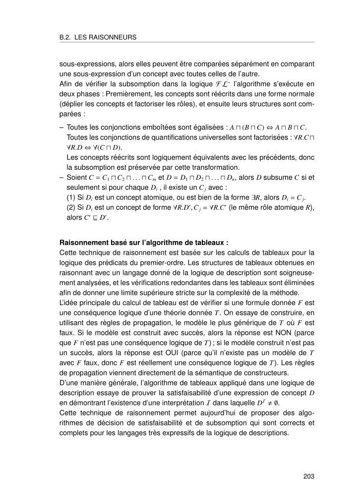 B.2. LES RAISONNEURS