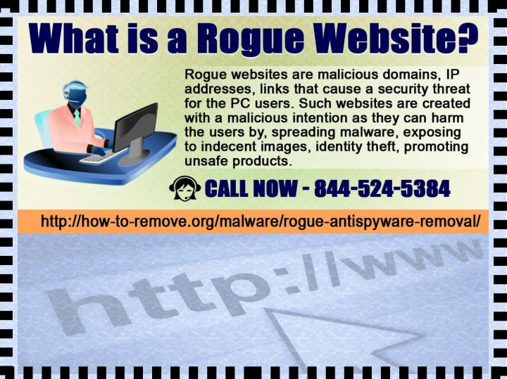 What is a rogue website