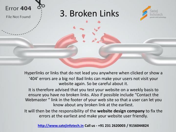3. Broken