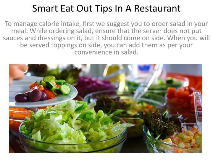 Smart eat out tips in a restaurant2